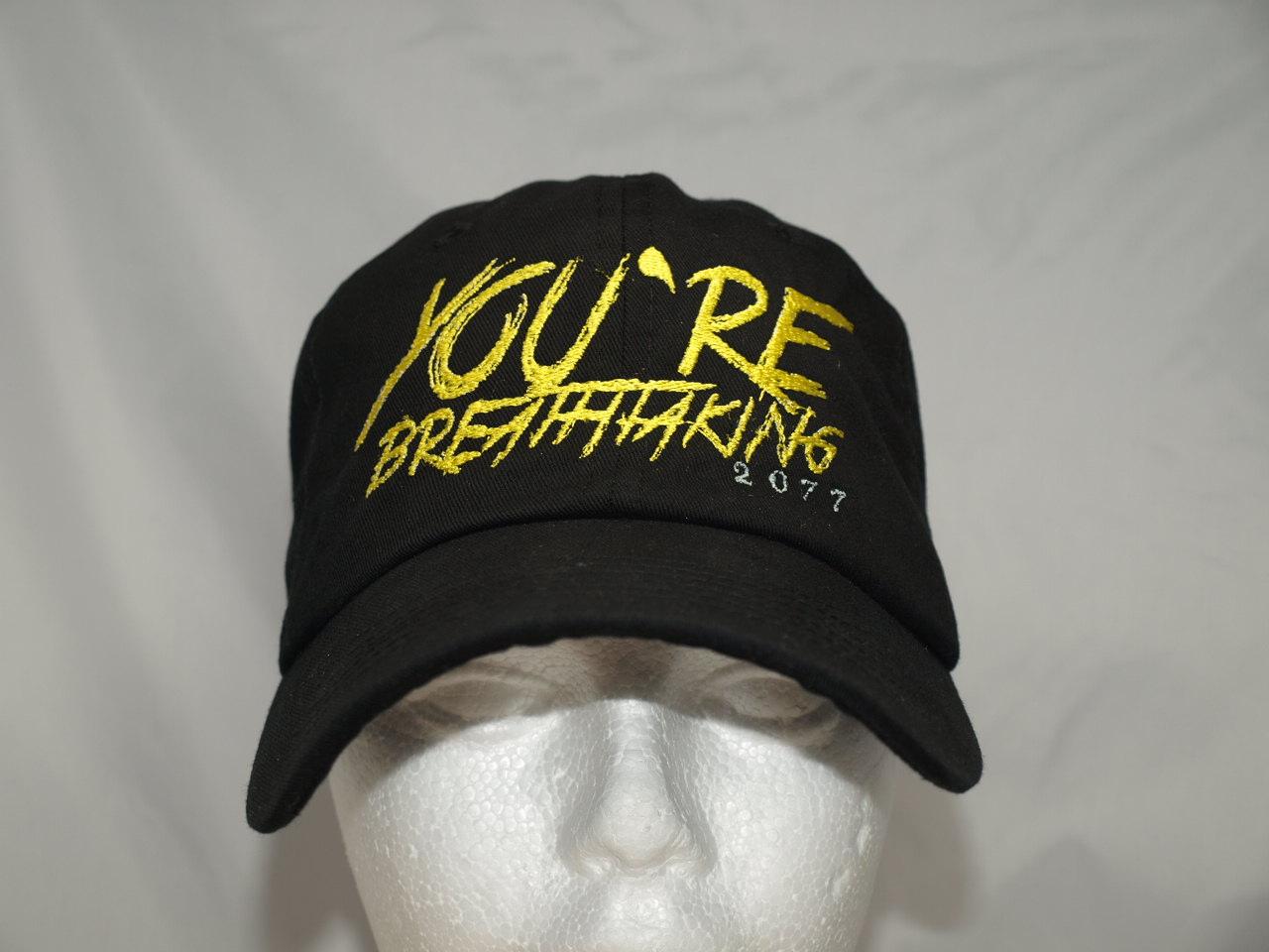 D3VUR LA's custom embroidery hats caps shirts and apparel
